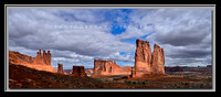 'Towers of the Courthouse' ~ Arches Nat'l Park