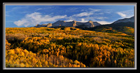 'Autumn on the Beckwiths' - Colorado