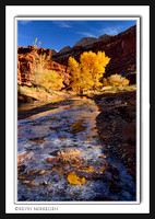 'Early Autumn Chill' ~ Fremont River/Capitol Reef