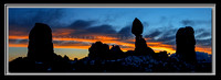 'Sunrise at Balanced Rock' ~ Arches Nat'l Park