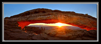 'February Sunrise' ~ Mesa Arch/Canyonlands