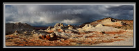 'Storm over White Pocket' ~ Vermilion Cliffs