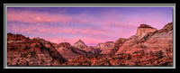'East Side Sunrise' - Zion Nat'l Park