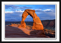 'Delicate Arch Last Light' ~ Arches Nat'l Park