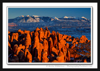 'Mountains and Spires' ~ Arches National Park