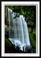 'Waterfall Shadows' ~ Silver Falls State Park