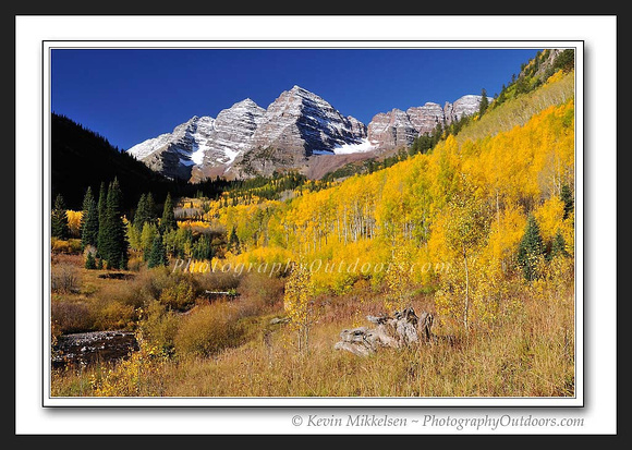'Autumn at Marroon Bells' - White River Nat'l Forest