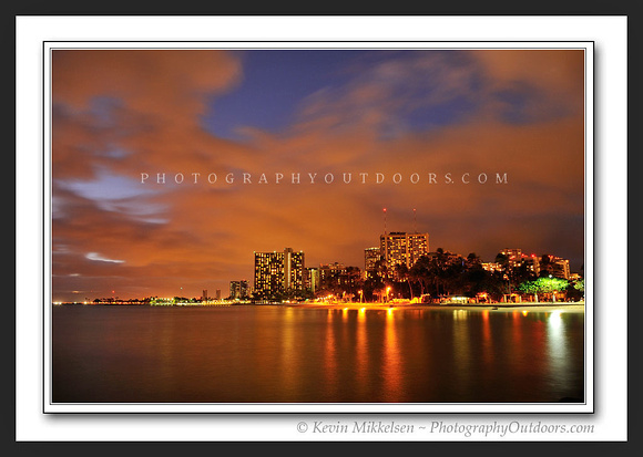 'Waikiki Evening' ~ Honolulu, Oahu