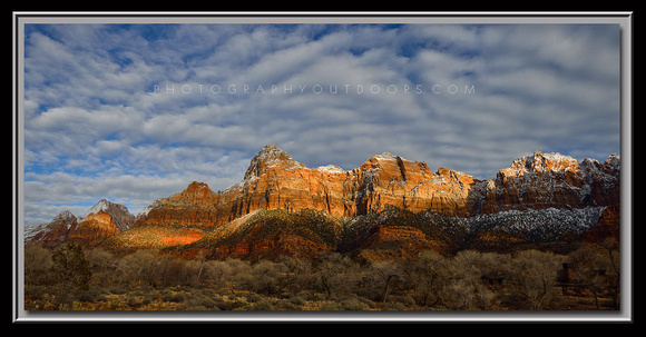 'January in Zion' ~ Zion N.P.