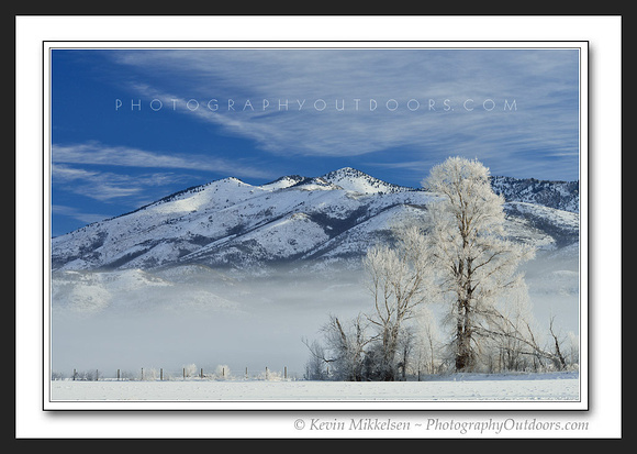 'Winters First Frost' ~ Ogden Valley/James Peak