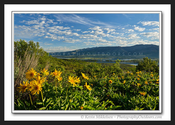'Morning above Pineview' ~ Ogden Valley