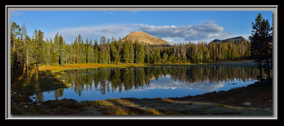 'Morning at Lilly Lake' ~ High Uinta Mountains