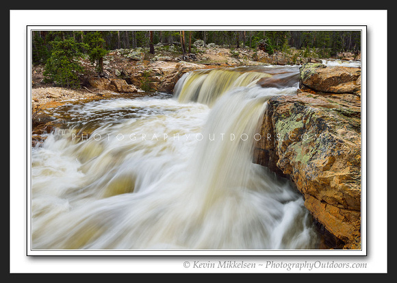 'Winters Runoff' ~ High Uinta Mountains