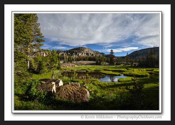'High Country Meadow' ~ High Uinta Mountains