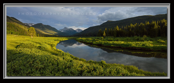 'Sunset on the Bear' ~ Christmas Meadows/High Uintas