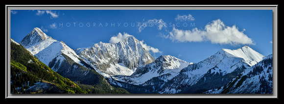 'Summits of Colorado' ~ Capitol Peak/Elk Mountains