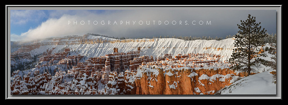 'Winter Hoodoos' ~ Sunset Point/Bryce Canyon