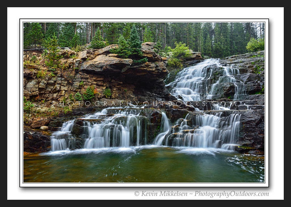 'Falls of September' ~ High Uinta Mountains