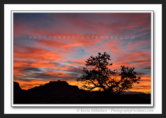 'Fiery Morning Sky' ~ Capitol Reef Nat'l Park