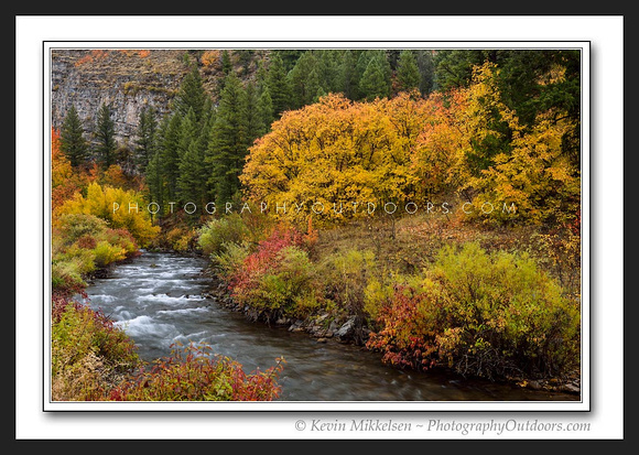 'Autumns Majesty' ~ Logan Canyon Scenic Byway