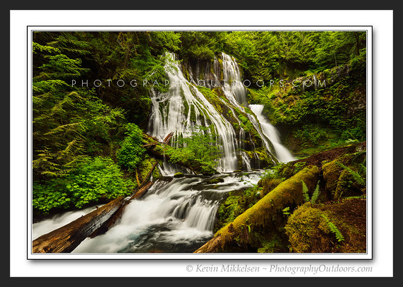 'Falls on Panther Creek' ~ Gifford-Pinchot Nat'l Forest