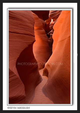 'Lighted Cavern' ~ Antelope Slot Canyon