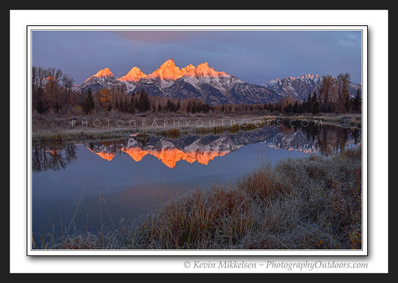 'Teton Winter Glow' ~ Grand Teton Nat'l Park