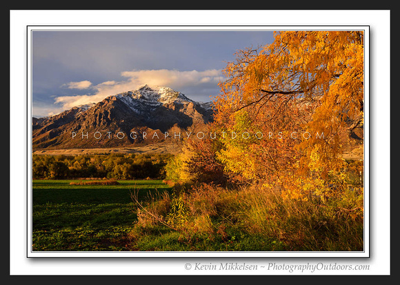 'Ben Lomonds October' ~ North Ogden