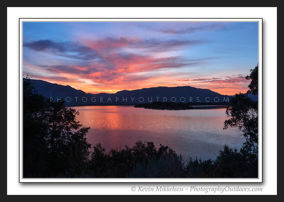 'Cemetary Point Sunrise' ~ Pineview Reservior