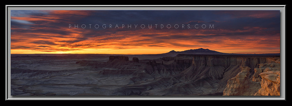 'Desert Moonscape' ~ San Rafael Swell