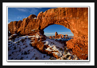 'Winter Windows' ~ Arches Nat'l Park
