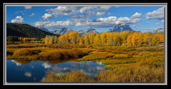 'Autumn at Oxbow' ~ Grand Teton Nat'l Park