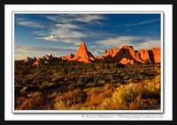 'Red Rock Spires' ~ Arches National Park