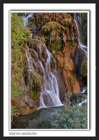 'Trickling Waters' ~ near Navajo Falls