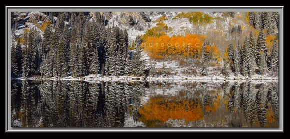 'Collision of Seasons' ~ Silver Lake/Wasatch Nat'l Forest