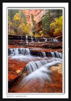 'Arch Angel Cascades' ~ Zion Wilderness