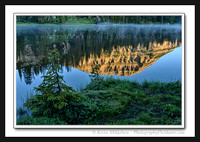 'Flat Water Reflection' ~ Fehr Lake/High Uintas