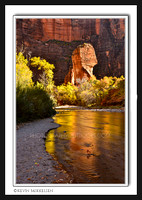 'Temple of Sinawava Reflection' ~ Zion Nat'l Park