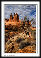 'The Three Gossips' ~ Arches Nat'l Park