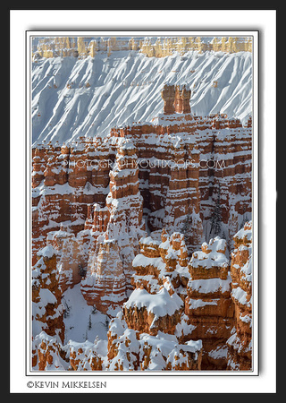 'Sedimentary Winter' ~ Bryce Canyon