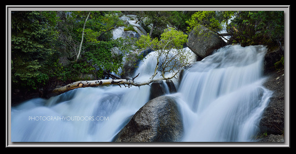 'Bells Canyon Cascades' ~ Lone Peak Wilderness