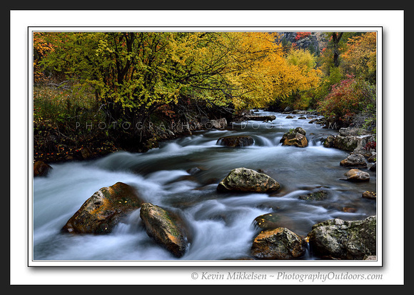 'Logan's River Rapids' ~ Logan Canyon