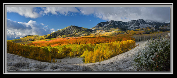 'October Snow' ~ Wasatch Nat'l Forest