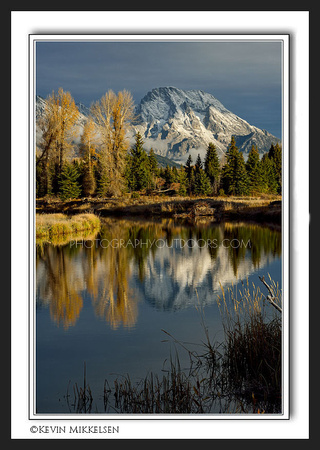 'Morans Reflective Light' ~ Grand Teton Nat'l Park