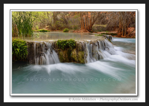 'Travertine Falls' ~ Havasu River