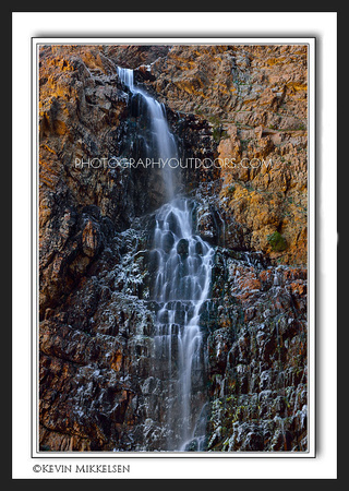 'Icy Horsetail' ~ Waterfall Canyon
