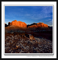'Sunset Domes' ~ Capitol Reef N.P.